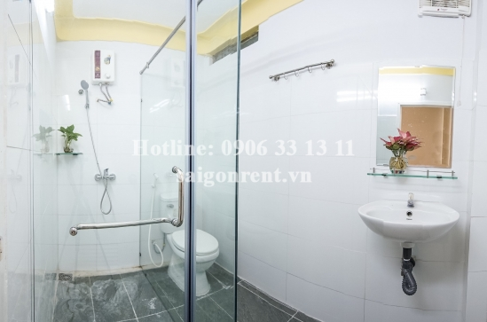 Serviced apartment 01 bedroom with small balcony for rent on Nguyen Thi Minh Khai Street, District 1 - 40 sqm - 700 USD