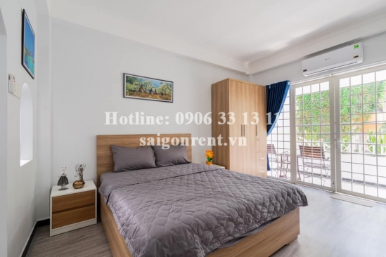 Serviced apartment 01 bedroom with balcony for rent on Nguyen Thi Minh Khai Street, District 1 - 45 sqm - 800 USD