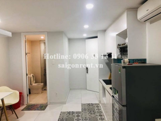 Serviced studio apartment 01 bedroom for rent on Quoc Huong street, Thao Dien Ward, District 2 - 37sqm - 500 USD