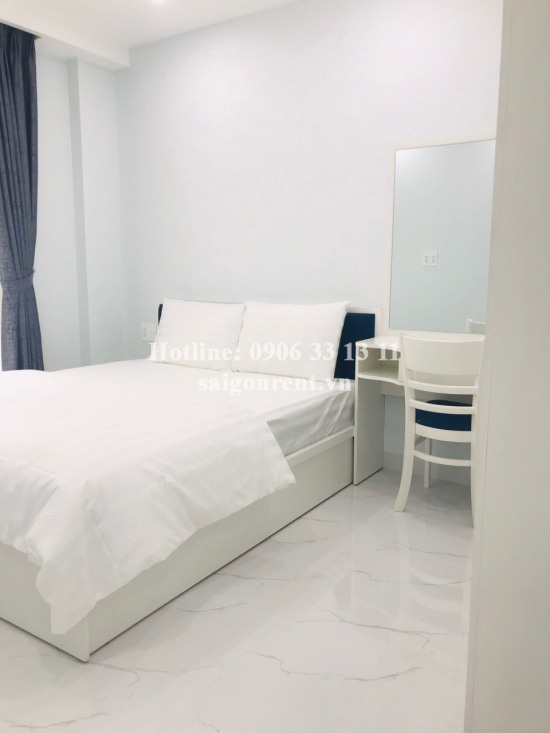Nice serviced apartment 01 bedroom with balcony for rent on Hung Gia street, Phu My Hung, District 7 - 45sqm - 650 USD