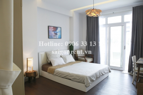 Serviced apartment 01 bedroom with balcony for rent on Tran Quy Khoach street, District 1 - 50sqm - 680 USD