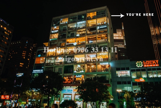 Nice serviced apartment 02 bedrooms with 02 balconies for rent at 42 Nguyen Hue street, District 1 - 60sqm - 770 USD( 18 millions VND)
