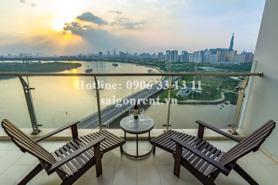 Diamond Island building - Apartment 04 bedrooms for rent on Mai Chi Tho street, District 2 - 225sqm - 2200 USD