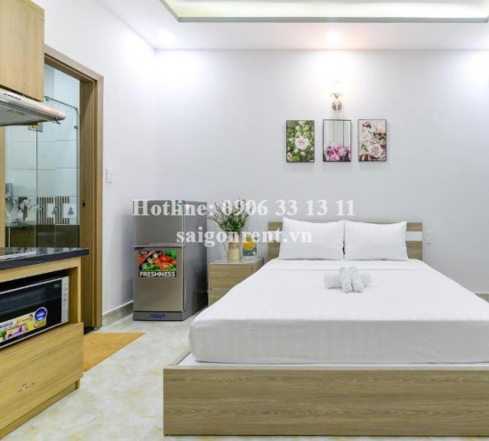 Nice serviced studio apartment 01 bedroom for rent on Vo Thi Sau street, Tan Dinh Ward, District 1 - 25sqm - 300 USD