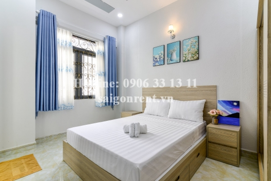 Nice serviced apartment 01 bedroom with 02 beds for rent on Vo Thi Sau street, Tan Dinh Ward, District 1 - 50sqm - 600 USD
