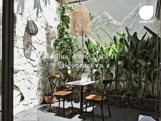 Nice studio apartment 01 bedroom with nice balcony for rent on Nguyen Cong Tru street, District 1 - 50sqm - 650 USd( 15 millions VND)