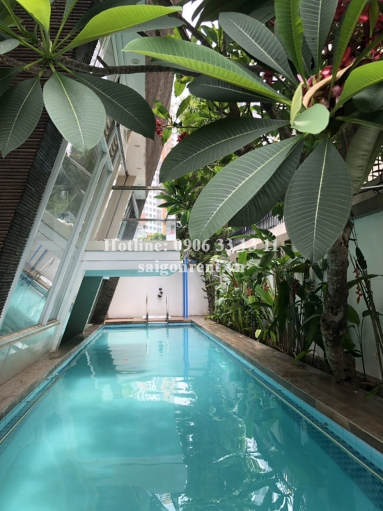 Nice Villa(20x20m) with 05 bedrooms for rent on Than Van Nhiep street, An Phú Ward, District 2 - 500sqm - 3500 USD