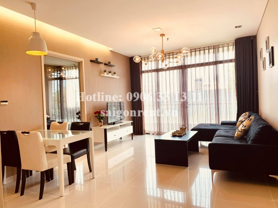 City Garden Building - Apartment 01 bedroom for rent on Ngo Tat To street, Binh Thanh District - 70sqm - 1200 USD