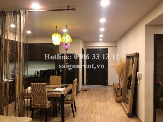 Tropic Garden Buidling - Apartment 02 bedrooms on 16th floor for rent on Nguyen Van Huong street, District 2 - 88sqm - 800 USD