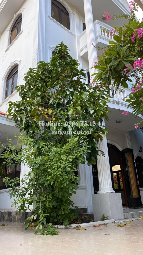 Villa 04 bedrooms for rent on Quoc Huong street, Thao Dien Ward, District 2- 358sqm - 3500 USD