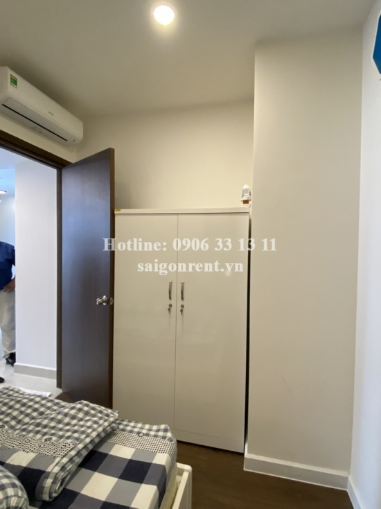 Saigon Royal building - Apartment 02 bedrooms on 12th floor for rent at 34-35 Ben Van Don street, District 4 - 60sqm - 730 USD( 17 millions VND)