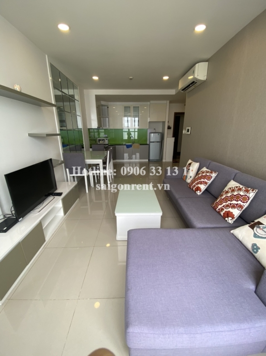 Icon 56 building - Apartment 02 bedrooms on 12th floor for rent on Ben Van Don street, District 4 - 75sqm - 730 USD( 17 millions VND)