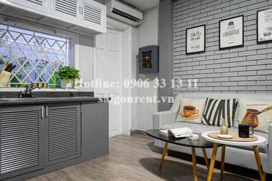 Nice serviced studio apartment 01 bedroom for rent on Dien Bien Phu street, Dakao Ward, District 1 - 40sqm - 520 USD( 12 millions VND)