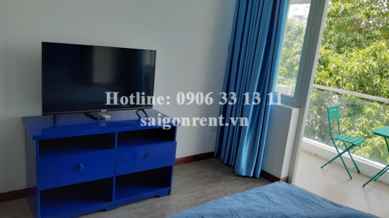 Apartment 01 bedroom with balcony for rent on Tran Ke Xuong street, Phu Nhuan District - 50sqm - 520 USD( 12 millions VND)