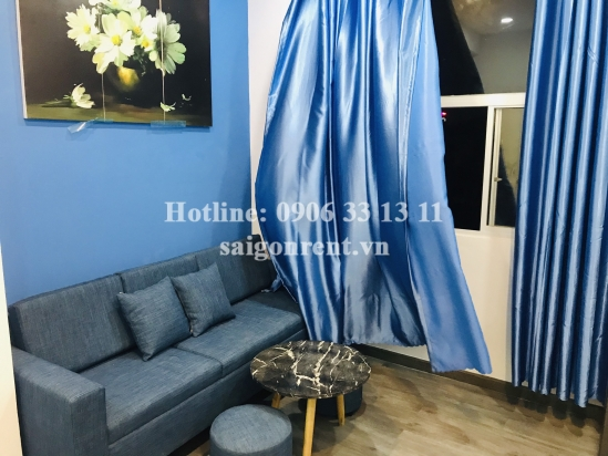 Apartment 02 bedrooms with balcony on top floor for rent on Tran Ke Xuong street, Phu Nhuan District - 60sqm - 560 USD( 13 millions VND)