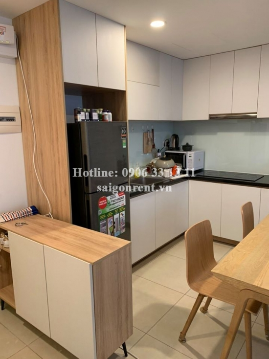 Masteri Thao Dien Building - Apartment 01 bedroom on 31th floor for rent on Ha Noi highway - District 2 - 50sqm - 600 USD( 14 millions VND)