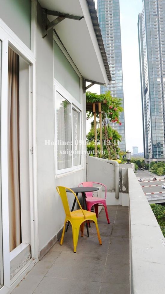 Service Apartment 01 bedroom with balcony for rent on Truong Sa street - Binh Thanh District - 50sqm - 650USD