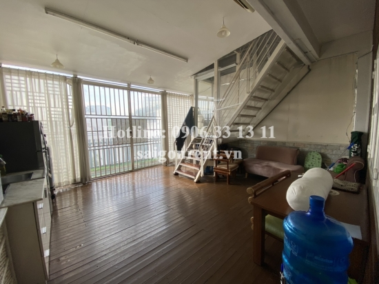 Serviced apartment 01 bedroom with terrace for rent on Tran Huy Lieu Street, Phu Nhuan District - 40sqm - 300 USD( 7 millions VND)