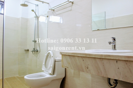 Serviced apartment 02 bedrooms for rent on Quoc Huong street, Thao Dien Ward, District 2 - 58sqm - 430 USD( 10 millions VND)