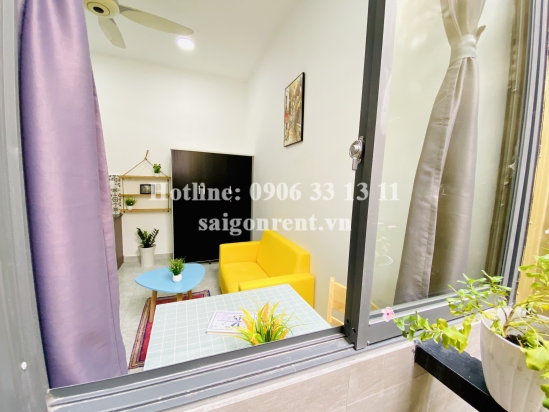 Service Apartment 01 bedroom with balcony for rent on Nguyen Cuu Van street - Binh Thanh District - 40sqm - 430 USD