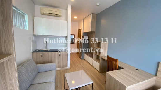 Serviced studio aparment 01 bedroom for rent on Pham Viet Chanh Street, Binh Thanh District - 30sqm - 390 USD (9 Millions VND)