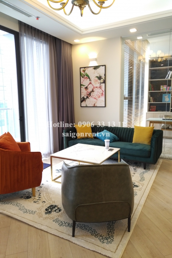 Vinhomes Golden River Building - Beautiful Penthouse 04 bedrooms on 34th floor for rent on Ton Duc Thang street, Center of District 1 - 147sqm - 3500 USD