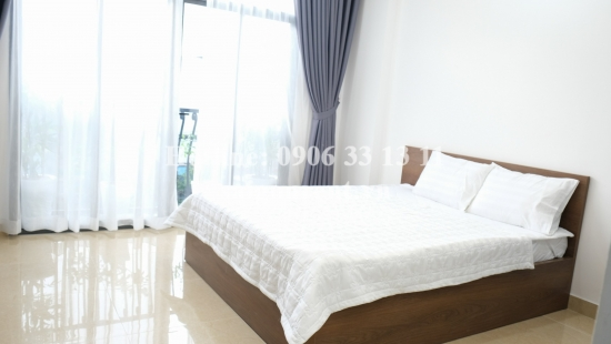 Brand New service studio apartment 01 bedroom, 01 bathroom for rent on Hoang Hoa Tham street - Binh Thanh District - 35sqm -330 USD
