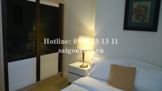 Masteri Thao Dien Building - Apartment 02 bedrooms on 26th floor for rent on Ha Noi highway - District 2 - 65sqm - 695USD ( 16millions VND)