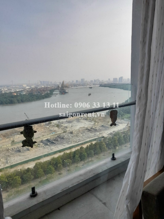 New City Thu Thiem Building - Apartment 02 bedrooms on 23th floor for rent at 17 Mai Chi Tho street, District 2 - 85sqm - 610 USD ( 14.000.000 VND)