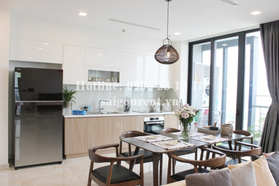 Vinhomes Golden River Building - Apartment 03 bedrooms with 101sqm for rent on Ton Duc Thang street, Center of District 1 - 101sqm - 2100 USD