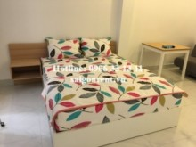 Serviced Apartments for rent in District 1 - Serviced apartment 01 bedroom separate kitchen room with balcony, 45sqm for rent in Nguyen Trai street, district 1- 450 USD