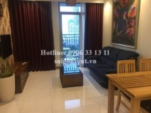 Apartment for rent in Binh Thanh District - Vinhome Central Park - Apartment 02 bedrooms on 7th floor for rent on Nguyen Huu Canh street - Binh Thanh District - 82sqm - 900 USD