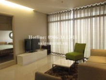 Apartment for rent in Binh Thanh District - Beautiful apartment 01 bedroom, highfloor, nice view for rent in City Garden buiding -1050 USD
