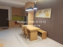 Apartment for rent in Binh Thanh District - Wilton Tower building - Apartment 02 bedrooms on 8th floor  for rent on Nguyen Van Thuong street, Binh Thanh District - 68sqm - 730 USD( 17 millions VND)