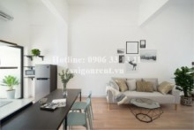 Beautiful apartment 01 bedroom with 02 balconies for rent on Truong Dinh street, District 3 - 70sqm - 900 USD