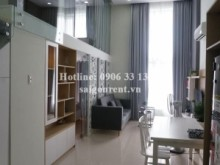 Apartment for rent in District 2  - La Astoria 1 Building - Duplex Apartment 02 bedrooms on 18th floor for rent on Nguyen Duy Trinh street, District 2 - 66sqm - 430 USD( 10 millions VND)