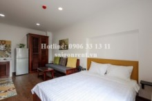Serviced Apartments for rent in Phu Nhuan District - Brand new serviced studio apartment 01 bedroom 30sqm in Nguyen Van Troi street, Phu Nhuan district - 400 USD