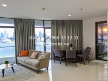 City Garden Building - Apartment 02 bedrooms on 8th floor for rent on Ngo Tat To street, Binh Thanh District - 102sqm - 1500 USD