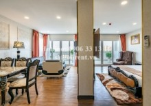 Serviced Apartments for rent in District 3 - Serviced apartment 01 bedroom with balcony for rent on Huynh Tinh Cua street, District 3 - 47sqm - 1240 USD
