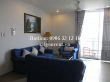 Apartment for rent in District 1 - High floor apartment 02 bedrooms for rent in Horizon Tower, Nguyen Van Nguyen street, District 1: 1100 USD