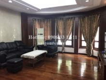 Villa for rent in District 7 - Villa (6x18m) 04 bedrooms for rent in Nam Thien area on Ha Huy Tap street, Tan Phong Ward, District 7 - 3000 USD