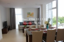 Serviced Apartments for rent in District 2 - Very luxury compound serviced apartments are designed in the European style for rent in Nguyen Van Huong street, District 2, from 800$ to 1500$