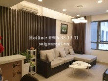 Apartment for rent in District 2 - Masteri Building - Apartment 02 bedrooms on 32th floor for rent on Ha Noi highway - District 2 - 70sqm - 850 USD