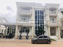 Villa for rent in District 7 - Villa 07 bedrooms for rent in Chateau Villa compound on Nguyen Luong Bang street, Tan Phu Ward, District 7 - 1000sqm - 12000 USD