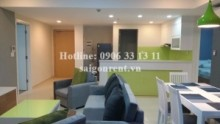 Apartment for rent in District 2 - Masteri Building - Apartment 03 bedrooms on 40h floor for rent on Ha Noi highway - District 2 - 90sqm - 1300USD
