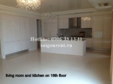 Penthouse/ Douplex for rent in Binh Thanh District - Penthouse for rent in Cantavil Hoan Cau builing, Unfurnished 3bedrooms- 4900 USD