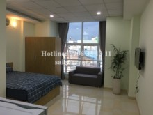 Serviced Apartments for rent in Binh Thanh District - Serviced studio apartment 01 bedroom for rent on Tran Binh Trong street, Binh Thanh District - 40sqm - 330 USD