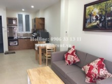 Serviced Apartments for rent in Binh Thanh District - Brand new and Nice serviced apartment 01 bedroom with balcony for rent on Nguyen Huu Canh street - Binh Thanh District - 55sqm - 800USD