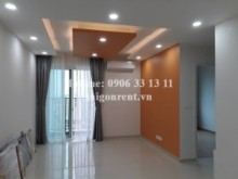 Apartment for rent in District 2 - The Vista Verde Building - Apartment 02 bedrooms with basic furniture for rent on 26th floor on Dong Van Cong street, District 2 - 75sqm - 550USD