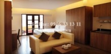 Serviced Apartments for rent in Phu Nhuan District - Nice serviced apartment for rent in Nguyen Trong Tuyen street, Phu Nhuan district - 1 bedroom 600$